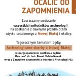 15 sierpnia – Archeologiczne skarby Nowej Białej