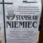 Zmarł Stanisław Niemiec z ul. Zielonej
