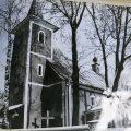 1976 - stary kościół.