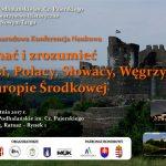 Poznać i zrozumieć: Czesi, Słowacy, Polacy i Węgrzy w Europie Środkowej