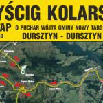 Wyścig kolarski – start i meta w Dursztynie
