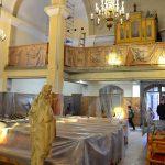 Wentylacja i malowanie kościoła