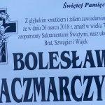 Zmarł Bolesław Kaczmarczyk z ul. Długiej