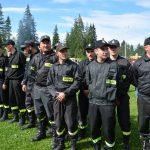 OSP Dursztyn na zawodach strażackich w Nowej Białej