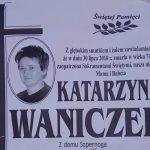 Zmarła Katarzyna Waniczek z ul. Zielonej