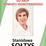 Sołtys Stanisława do Rady Powiatu Nowotarskiego