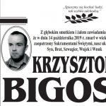 Zmarł Krzysztof Bigos z ul. Polnej