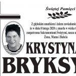 Zmarła Krystyna Bryksy z ul. Zielonej