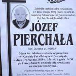 Zmarł Józef Pierchała z ul. Krótkiej
