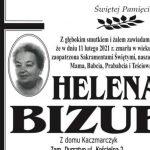 Zmarła Helena Bizub z ul. Kościelnej